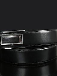 cheap -Men's Leather Waist Belt