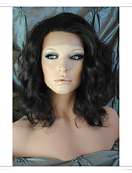 cheap -Human Hair Glueless Glueless Full Lace Glueless Lace Front Wig style Brazilian Hair Wavy Body Wave Wig 8-22 inch Women's Short Medium Length Long Human Hair Lace Wig