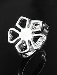 cheap -2016 Fashion Cheaper Simple Star 925 Sterling Silver Statement Ring For Lady