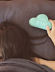 Недорогие -Форма облака управления звуковыми движения USB цифровой будильник мило украшения дома 20 * 5 * 14см