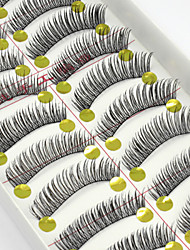 abordables -Accessoires de Maquillage Faux Cils Quotidien Maquillage Maquillage Quotidien Classique Cosmétique Accessoires de Toilettage