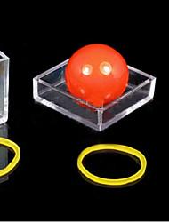 Недорогие -магия опорой мяч через прозрачную коробку