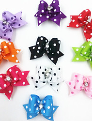 cheap -Cat Dog Hair Accessories Puppy Clothes Wedding Dog Clothes Puppy Clothes Dog Outfits Costume for Girl and Boy Dog Terylene