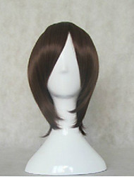 cheap -Cosplay Costume Wig Synthetic Wig Straight Straight Wig Brown Synthetic Hair Women's Brown hairjoy