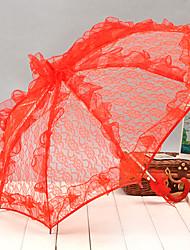 abordables -Poignée crochet Mariage / Quotidien / Mascarade Parapluie Parapluie Env.58cm