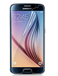cheap -Screen Protector for Samsung Galaxy S6 PET Front Screen Protector High Definition (HD)