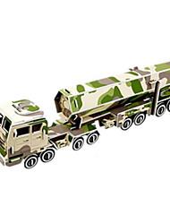 Недорогие -DIY межконтинентальной ракеты в форме 3d головоломки