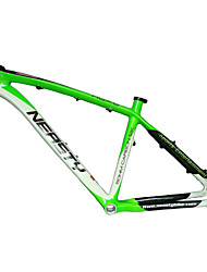 "cheap -Neasty Brand MB-NT02 Full Carbon Fiber MTB Frame Green White Color High Quality 26er Frame 15""/17"""