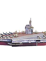 Недорогие -DIY носитель CV-6 самолетов в форме 3d головоломки