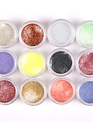 cheap -12pcs-glittery-nail-art-acrylic-paint-powder-shining-nail-sculpting-carving-uv-painting-dust-for-salon-nail-decorations