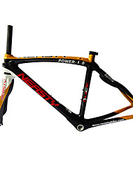 cheap -Neasty Brand 700C Full Carbon Fiber Frame and Fork 3K Gold Color Decal Carbon Black 48/50/52/56CM