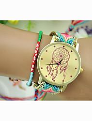 cheap -Women's Fashion Watch Dress Watch Wrist Watch Quartz Nylon Red / Green Hot Sale Analog Ladies Charm Bracelet - 5# 6# 7# One Year Battery Life / Jinli 377