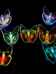 cheap -Light Colorful Butterflies /LED Paste Colorful Light-emitting Toy(1 PS)