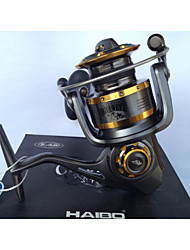 cheap -Fishing Reel Spinning Reel 4.9:1 Gear Ratio 6 Ball Bearings for Spinning - CT8000