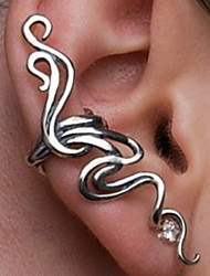 cheap -Men's Women's Clip on Earring Ear Cuff Climber Earrings Ladies Vintage Punk Fashion Earrings Jewelry Silver / Bronze For Party Daily Casual