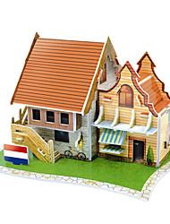 Недорогие -голландские кафе 3 D пазлы