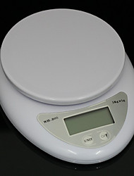cheap -5kg 5000g/1g Kitchen Food Diet Postal Digital Scale Electronic Weight Scales Balance Weighting LED Electronic kitchen scales