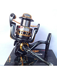 cheap -Fishing Reel Spinning Reel 5.2:1 Gear Ratio 9 Ball Bearings for Spinning - HHD3000