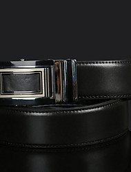 cheap -Men's Elegant Alloy/Leather Waist Belt