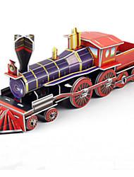 Недорогие -DIY паровоз в форме 3d головоломки