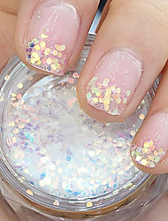 cheap -1 pcs Glitter Powder For Finger nail art Manicure Pedicure Daily Abstract / Wedding / Fashion