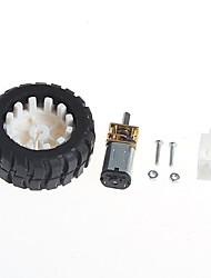 Недорогие -Мотор-редукторы с роботом резиновые шины колеса кронштейн (6v100 очередь)