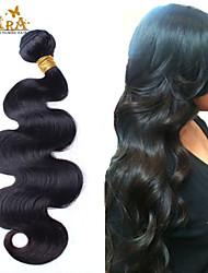 cheap -4 Bundles Malaysian Hair Body Wave 400 g Natural Color Hair Weaves / Hair Bulk Human Hair Weaves Human Hair Extensions