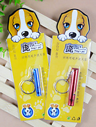 cheap -Interactive Dog Toy Pet Toy Whistle Aluminum Gift