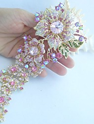 cheap -Women's Ladies Vintage Party Crystal Brooch Jewelry Screen Color For Wedding Party Special Occasion Anniversary Birthday