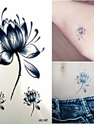 cheap -1 pcs Temporary Tattoos Waterproof / Non Toxic Paper Tattoo Stickers / Lower Back
