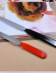 cheap -Cleaning Plastic Nail File Pet Grooming Supplies Red