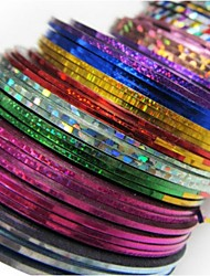 cheap -30 pcs Nail Foil Striping Tape nail art Manicure Pedicure Abstract / Fashion Daily / Foil Stripping Tape