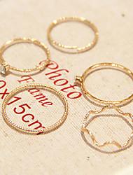 cheap -Women's Golden Imitation Diamond Alloy Ladies Personalized Unusual Daily Casual Jewelry / Rhinestone