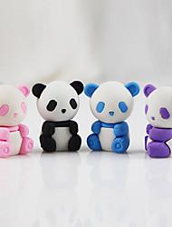 cheap -Cartoon Panda Detachable DIY Rubber Eraser Student Children Prizes Gift Assemble Toy