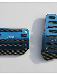 Недорогие -алюминий занос автомобиля педаль акселератора педаль тормоза применяются к автоматическим автомобилей передачи (разные цвета)