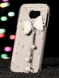 cheap -Case For Samsung Galaxy S7 edge / S7 / S6 edge plus Rhinestone Back Cover 3D Cartoon PC