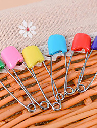 cheap -Set of 6 Candy Colors Safety Hold Locking Baby Dress Cloth Pins Kit (Random Color)