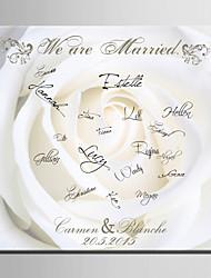 Недорогие -Рамы с местом для подписей Бумага Сад / Свадьба С Узор Свадебные аксессуары