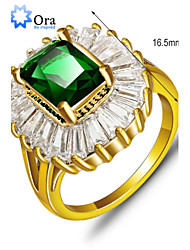 cheap -Women's Green Gold Plated Fashion Party Jewelry