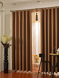 cheap -Country Curtains® One Panel Glod Solid Blackout Curtain