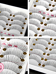 cheap -Eyelash Extensions False Eyelashes 20 pcs Volumized Extra Long Daily Makeup Daily Makeup Classic Cosmetic Grooming Supplies
