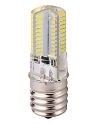 cheap -YWXLight® E17 3014SMD 80LED 600LM  Dimmable LED Bi-pin Lights Warm White Cool White Led Corn Bulb Chandelier Lamp AC 110-130V