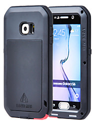 cheap -Case For Samsung Galaxy S6 Water / Dirt / Shock Proof Full Body Cases Armor Metal