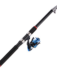 cheap -Telespin Rod Telespin Rod 2.1/2.4/2.7/3.0/3.6 cm Carbon Telescopic Extra Heavy (XH) Sea Fishing