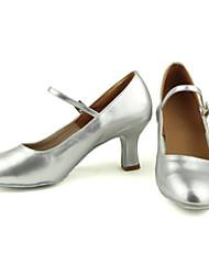 Недорогие -Жен. Современный Дерматин На высоких каблуках В помещении на открытом воздухе Профессиональный стиль Для начинающих Тренировочные Каблуки