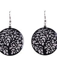 cheap -Women's Drop Earrings Dangling Dangle Ladies Earrings Jewelry Black / Silver For Wedding Party Daily Casual Sports