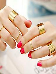 cheap -Band Ring Gold Alloy Unusual Unique Design Fashion / Women's