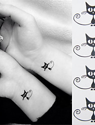 cheap -1 pcs Temporary Tattoos Mini Style / Eco-friendly Hand / Ankle Water-Transfer Sticker Tattoo Stickers