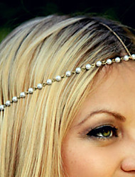 cheap -Women's Elegant Imitation Pearl Alloy Headbands Daily Casual