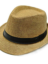 cheap -Women/Men Flax Hats With Occasion/Casual/Outdoor Headpiece (More Colors)